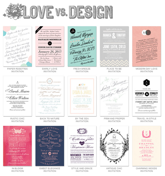 Beautiful Wedding Stationery Resources: